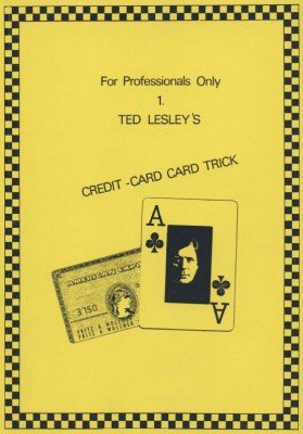 Credit-Card Card Trick by Ted Lesley