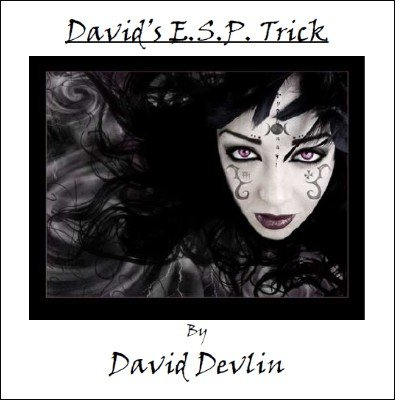 David's ESP Trick by David Devlin