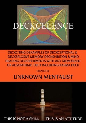 Deckcelence by Unknown Mentalist : Lybrary.com