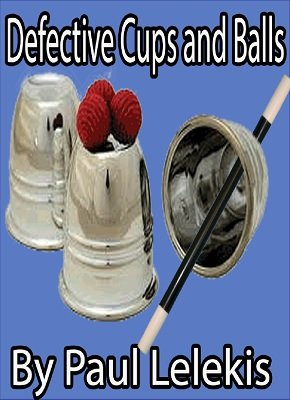 Defective Cups and Balls by Paul A. Lelekis