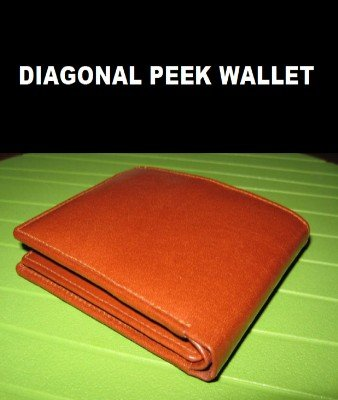 Diagonal Peek Wallet by Aaro Sorva