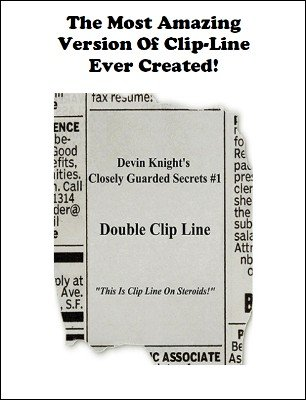 Double Clip Line by Devin Knight