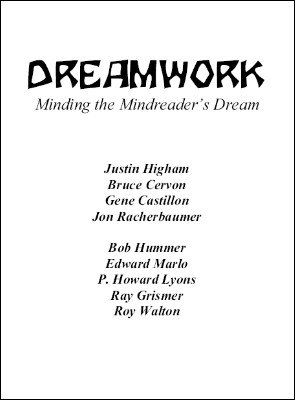 Dreamwork by Jon Racherbaumer