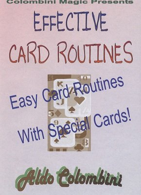 Effective Card Routines by Aldo Colombini