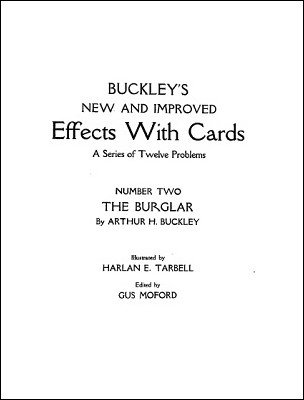 Effects with Cards 2 by Arthur Buckley