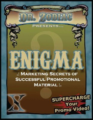 Enigma: Marketing Secrets of Successful Promotional Material by Scott Xavier