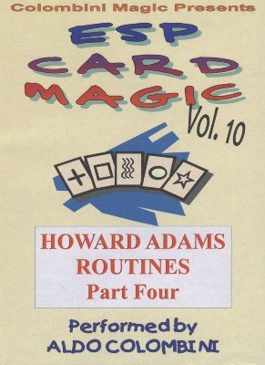 ESP Card Magic Vol. 10: Howard Adams Part 4 by Aldo Colombini