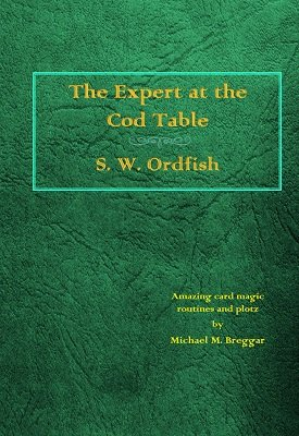 The Expert at the Cod Table by Michael Breggar