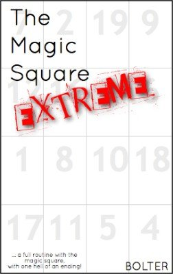 Extreme Magic Square by Christopher Bolter
