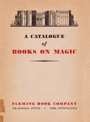 Fleming Catalog: Books on Magic by Paul Fleming