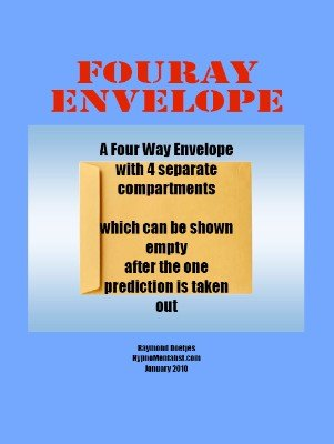 Fouray Envelope by Raymond Doetjes