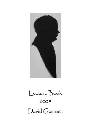 Lecture Book 2009 by David Gemmell