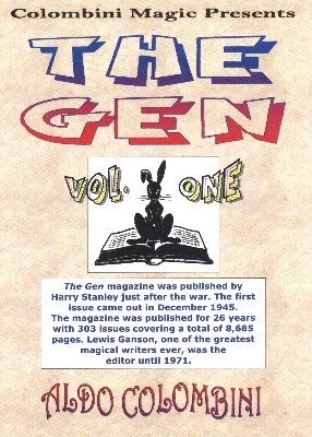 The Gen: 10 effects from volume 1 by Aldo Colombini