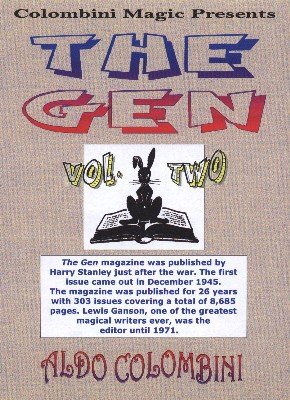 The Gen: 10 effects from volume 2 by Aldo Colombini