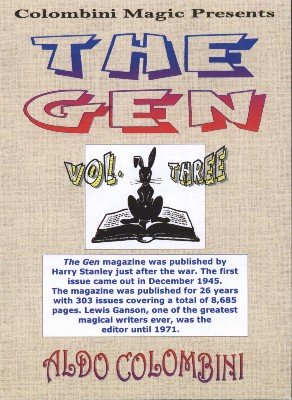 The Gen: 10 effects from volume 3 by Aldo Colombini
