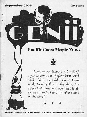 Genii Volume 01 by William W. Larsen