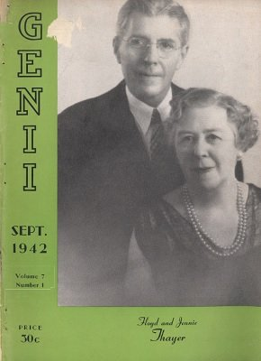 Genii Volume 07 by William W. Larsen
