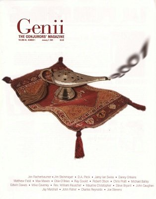 Genii Volume 64 by Richard Kaufman