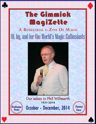 The Gimmick MagiZette: Volume 4, Issue 2 (Oct - Dec 2014) by Solyl Kundu