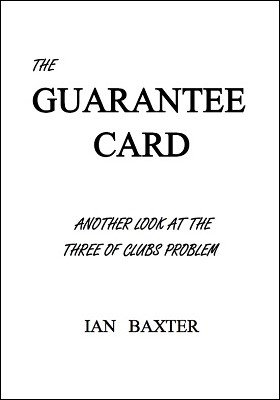 The Guarantee Card by Ian Baxter