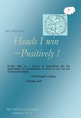 Heads I Win - Positively by Nic Holson