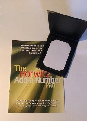 Horwitz Add-A-Number Pad by Basil Horwitz