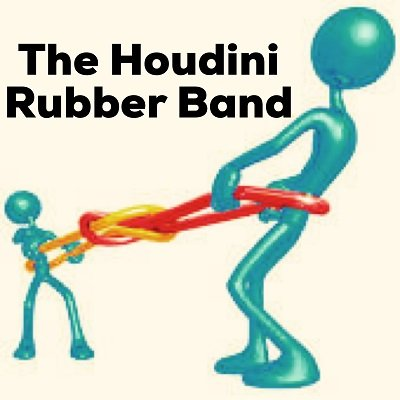 Houdini Rubber Band by Dave Arch