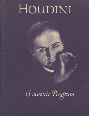Houdini Souvenir Program (used) by Harry Houdini