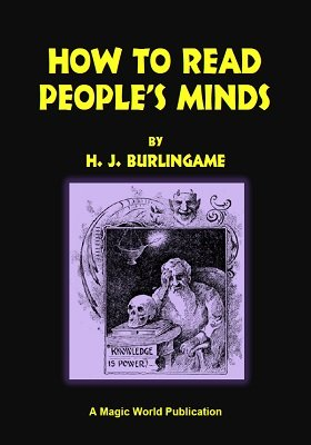 How To Read People's Minds by Hardin Jasper Burlingame