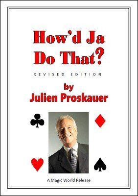 How'd Ja Do That? by Julien J. Proskauer