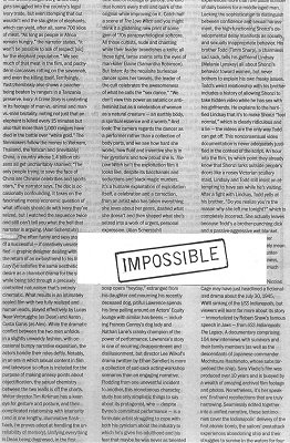 Impossible by Brick Tilley