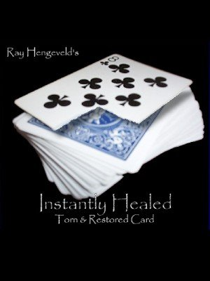 Instantly Healed: Torn & Restored Card by Ray Hengeveld