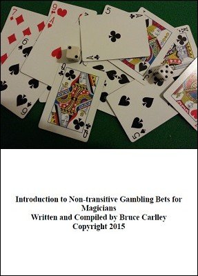 Introduction to Non-Transitive Gambling Bets for Magicians by Bruce Carlley
