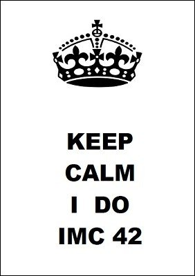 Keep Calm I Do IMC 42 by Patrik Kuffs