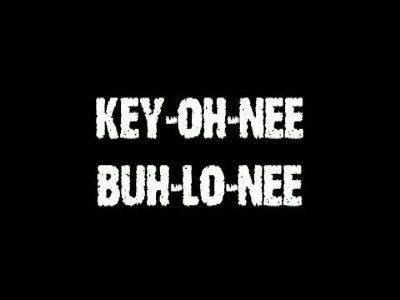 Key-Oh-Nee Buh-Lo-Nee by Jeff Stone