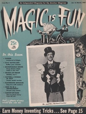 Magic is Fun issue 4 by Irv Feldman & David Robbins
