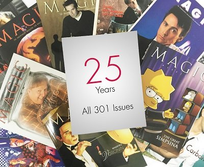 Magic Magazine: all 301 issues (1991-2016) by Stan Allen
