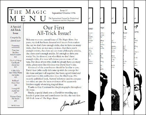 Magic Menu volume 7 by Jim Sisti