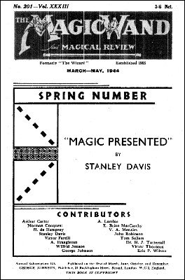 The Magic Wand Volume 33 (1944) by George Johnson