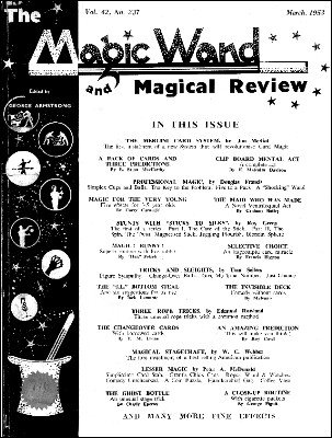 The Magic Wand Volume 42 (1953) by George Armstrong
