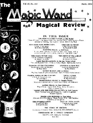 The Magic Wand Volume 43 (1954) by George Armstrong