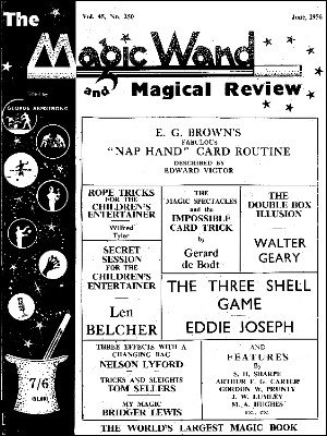 The Magic Wand Volume 45 (1956) by George Armstrong