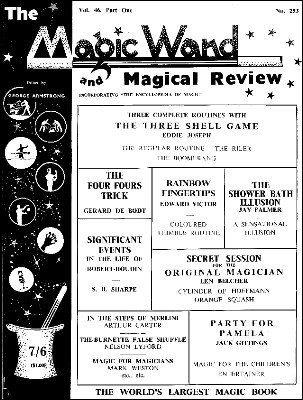 The Magic Wand Volume 46 (1957) by George Armstrong