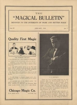 Magical Bulletin Volume 4 (1916) by Floyd Gerald Thayer