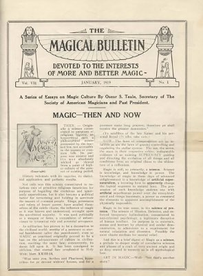 Magical Bulletin Volume 7 (1919) by Floyd Gerald Thayer
