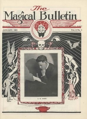 Magical Bulletin Volume 9 (January 1921 - May 1922) by Floyd Gerald Thayer