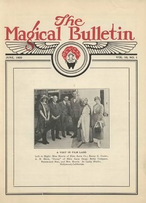 Magical Bulletin Volume 10 (June 1922 - October 1923) by Floyd Gerald Thayer
