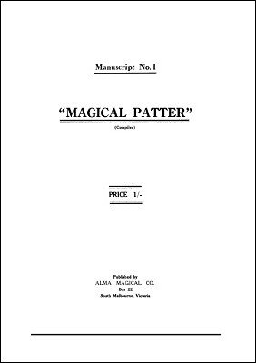 Magical Patter by Will Alma
