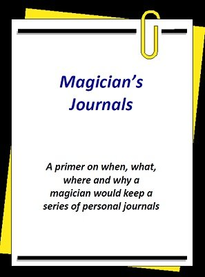 Magician's Journals by Brian T. Lees