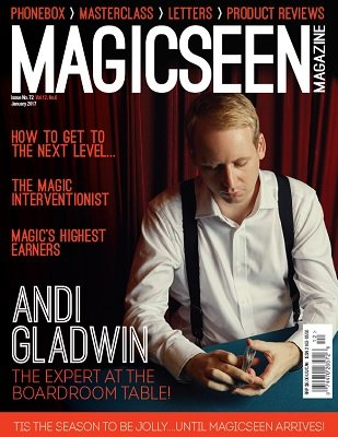 Magicseen No. 72 (Jan 2017) by Mark Leveridge & Graham Hey & Phil Shaw